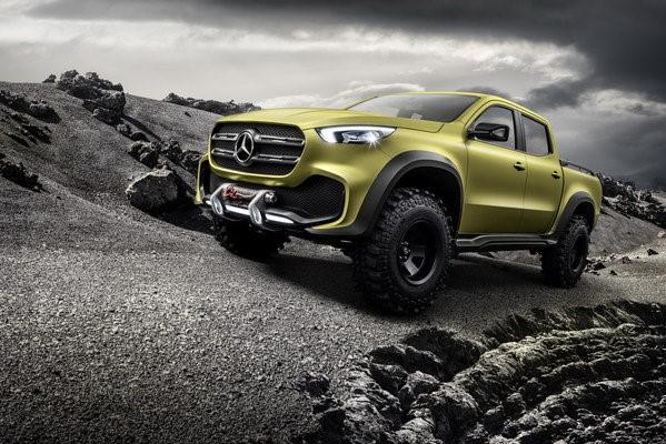 Mercedes Concept-X Vans